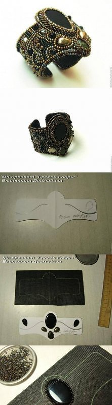 diy, chic bracelet, tutoria...