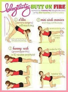 cwiczenia na zgrabny tylek