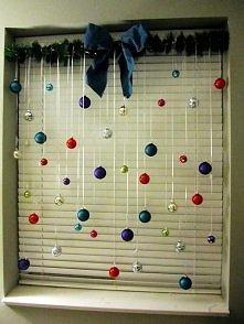 Łatwy sposób na udekorowanie okna, a jaki efekt :)