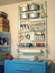 Organizacja przestrzeni, garaż , miejsce do szycia, pracownia, DIY