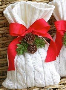 woreczek na drobny prezent,...