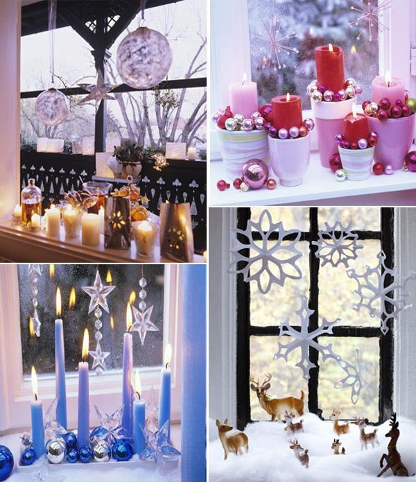 Inspiracje Na świąteczne Okno I Parapet Efektowna I Prosta