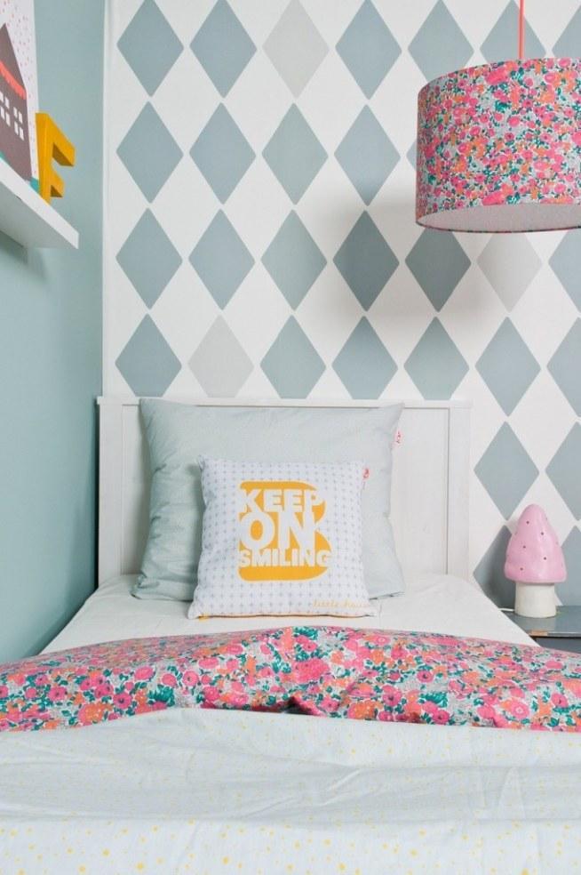 Sypialnia dla wielbicieli pastelowych kolorów