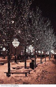 to co lubię najbardziej-wieczorny spacer ulicami świątecznie ozdobionego miasta.