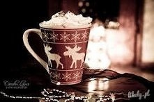 Święta... Chwila spokoju i odpoczynku :) Chwila dla siebie, np. z kakao w ręc...