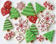 Dekorowanie świątecznych ci...