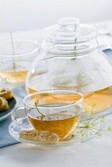 Zestaw herbat kwitnących + dzbanek z 2 filiżankami - doskonały prezent dla mi...