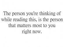 The person..