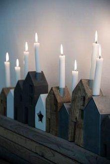 domek świecznik