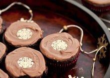 Babeczki czekoladowo – korzenne z powidłami i cynamonem