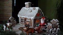 Świąteczna wioska z ciasta! WOW!