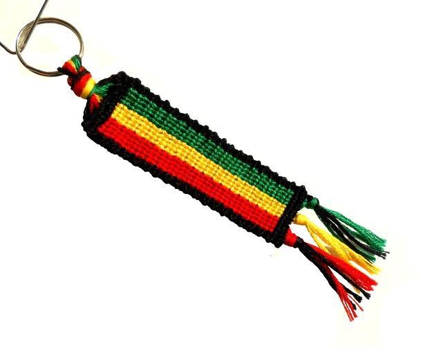 Breloczek dla wielbicieli muzyki reggae.