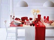 nowoczesny stół świąteczny