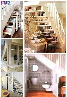 pomysł na zagospodarowanie schodów