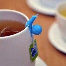 ślimaczek na herbatkę