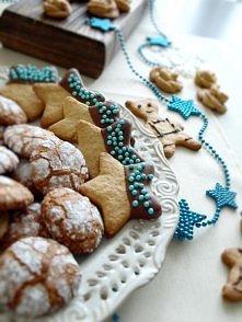 Świąteczne ciasteczka *.* Przepis po kliknięciu na zdjęcie.