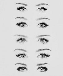 zmień kształt oka za pomocą kredki ;)