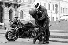 Zakochani,motocyklem ujarani,swą miłością uhahani <3 /Req449