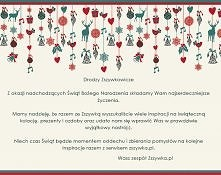 Drodzy Zszywkowicze,   dzię...