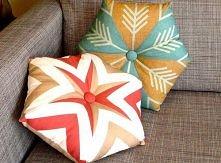 ciekawe poduszki DIY (Instrukcje jak uszyć po kliknięciu w obrazek)