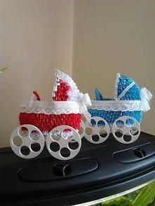 Wózki z origami