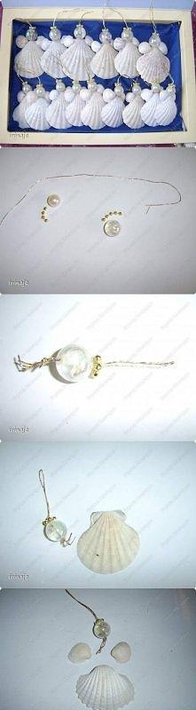 diy, angels shells, jewelry angels, tutorial