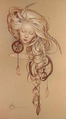 'Dream catcher' design by Artist Jennifer Healy.