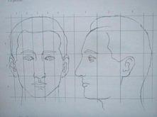 Polecam wam rysowanie linii według których będziecie rysować ;)Bardzo pomocne...