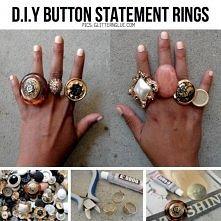 pierścionek z guzika