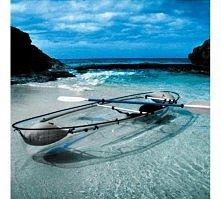 Transparent Canoe Kayak from Hammacher Schlemmer..interesting.