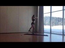 Gotowy,skomponowany trening 5x6 min (Ewa Chodakowska) dodaję do moich treningów :)