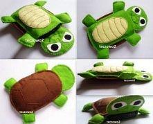 Etui na telefon w kształcie żółwika :)