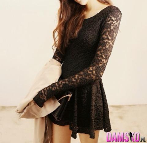 Świetna czarna sukienka