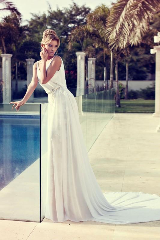Piękna Suknia ślubna Delikatna Zwiewna Kobieca Na ślub I Wesele