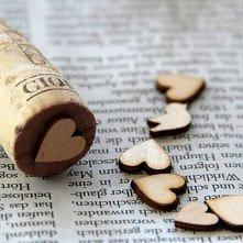 stempelki z korka do wina