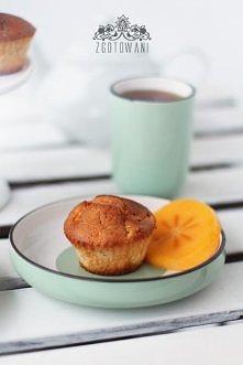 Muffinki z kaki