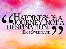 """""""Szczęście to podróż ...."""