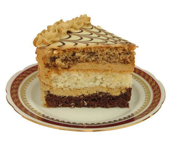 Tort Orzechowo Czekoladowo Kokosowy Tort Sklada Sie Z Nast Na