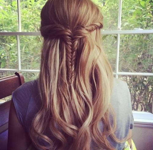bardzo prosta, ale piękna fryzurka !