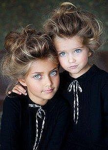 Przypominają mi Zuze i Tamare z Top model . Tylko że małe ...