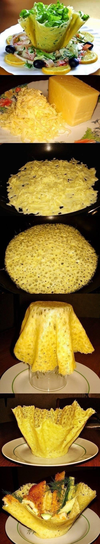 miseczki serowe :D