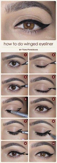 kreska # eyeliner # makijaż