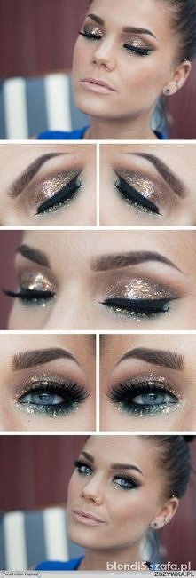 Piękny makijaż <3