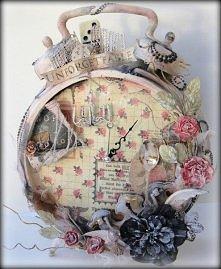 wystylizowany zegar