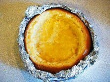 Przygotowanie chlebka do zu...