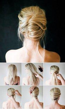 Eleganckie fryzury krok po ...