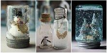 Po kliknięciu więcej pomysłów na kule śnieżne - super pomysł na prezenty DIY!
