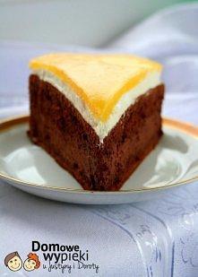 ciasto czekoladowe z mango