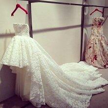nietypowa suknia ślubna. Nam się podoba<3