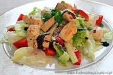 Chrupiąca sałatka z kurczaka  (4 porcje) Kategoria: Elegancko w 5 minut, Rodz...